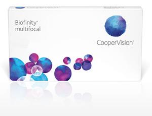 Gleitsichtkontaktlinse Multifokallinse